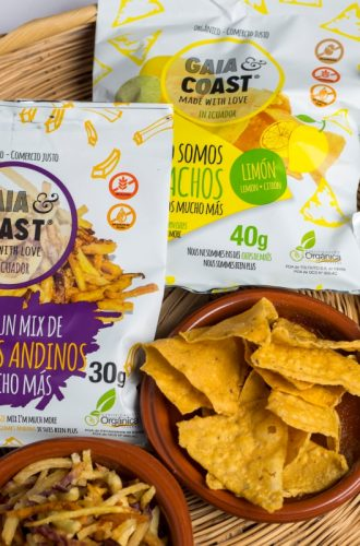 Snacks saludables by Gaia & Coast
